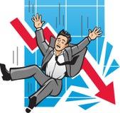 Economia de queda Imagens de Stock