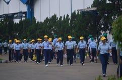 ECONOMIA DELL'INDONESIA Fotografie Stock Libere da Diritti