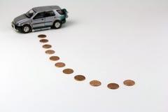 Economia do carro Imagens de Stock Royalty Free