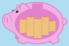 economia do dinheiro Fotografia de Stock Royalty Free