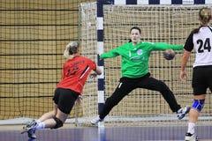 Economia do handball Fotografia de Stock