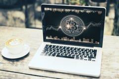 Economia e conceito do Cyberspace foto de stock royalty free