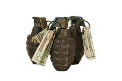 Economia esplosiva Fotografia Stock Libera da Diritti