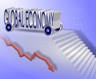 Economia global ilustração royalty free