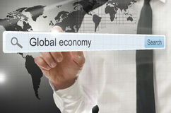 Economia global Foto de Stock
