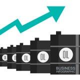 Economia global, dinheiro e projeto de negócio, ilustração Foto de Stock