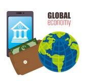 Economia globale Immagini Stock Libere da Diritti