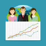 Economia globale Fotografie Stock Libere da Diritti