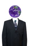 Economia globale, commercio di mondo, verde andante Immagine Stock
