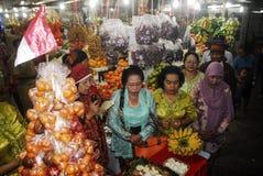ECONOMIA GLOBALE DI COLPO DI PREZZI DEL PETROLIO DELL'INDONESIA Fotografie Stock