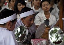 ECONOMIA GLOBALE DI COLPO DI PREZZI DEL PETROLIO DELL'INDONESIA Immagini Stock Libere da Diritti