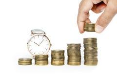 Economia, investimento Fotografia de Stock Royalty Free