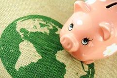 Economia mondiale Fotografia Stock Libera da Diritti