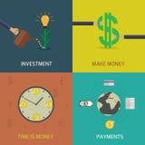 Economia mundial Imagens de Stock Royalty Free