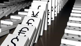 Economia mundial Fotografia de Stock Royalty Free