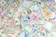 Economia mundial Fotografia de Stock