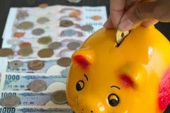 Economia para a aposentadoria Imagem de Stock Royalty Free