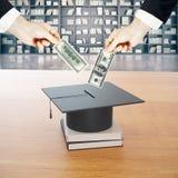 Economia para a educação Fotos de Stock Royalty Free