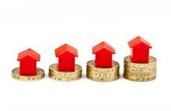 Economia para uma casa Fotografia de Stock Royalty Free