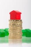 Economia para uma casa Foto de Stock Royalty Free