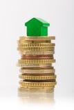Economia para uma casa Foto de Stock