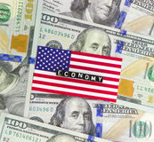 Economia statunitense Immagine Stock