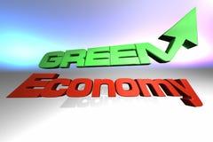 Economia verde Fotografie Stock Libere da Diritti