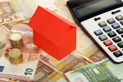 Economias da casa imagens de stock