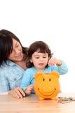 Economias da família Fotos de Stock Royalty Free
