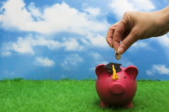 Economias da instrução Fotografia de Stock Royalty Free