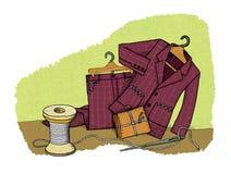 Economias do agregado familiar, humor ilustração royalty free