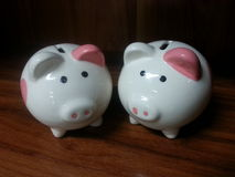 Economias do porco Fotografia de Stock Royalty Free