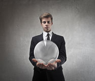 Economic Bubble Royalty Free Stock Photography