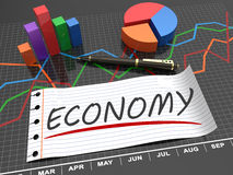 Economic budget. As a business concept Royalty Free Stock Image