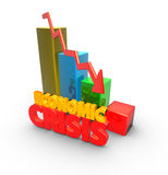 Economic crisis Royalty Free Stock Image