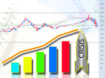 Economic Crisis Royalty Free Stock Photography