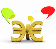 Economic crisis Stock Images