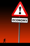 Economic crisis Royalty Free Stock Photo