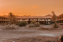 Economic crisis Abandoned construction in Egypt Royalty Free Stock Images