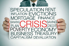 economic crisis Stock Photography