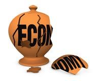 Economic crisis concept Stock Image