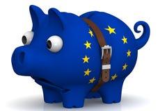 The economic crisis of the European Union. Concept Stock Photography