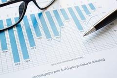 Economic data Royalty Free Stock Photos