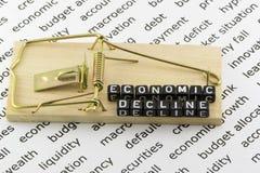 Economic decline Stock Photos