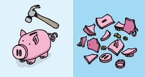 Economic depression Stock Photo