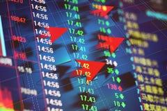 Economic Development and arrow Stock Photos