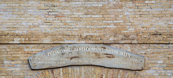 Economic Development Authority Stock Photo