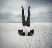 Economic downfall Stock Images