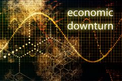 Economic Downturn Stock Photo
