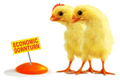 ECONOMIC DOWNTURN Stock Image